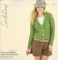 654 - The fourth fabulous Sublime merino wool dk book